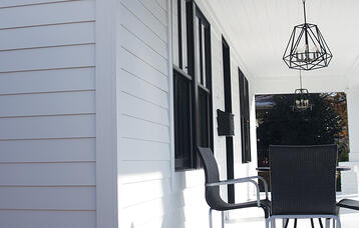 LP Smartside Siding porch