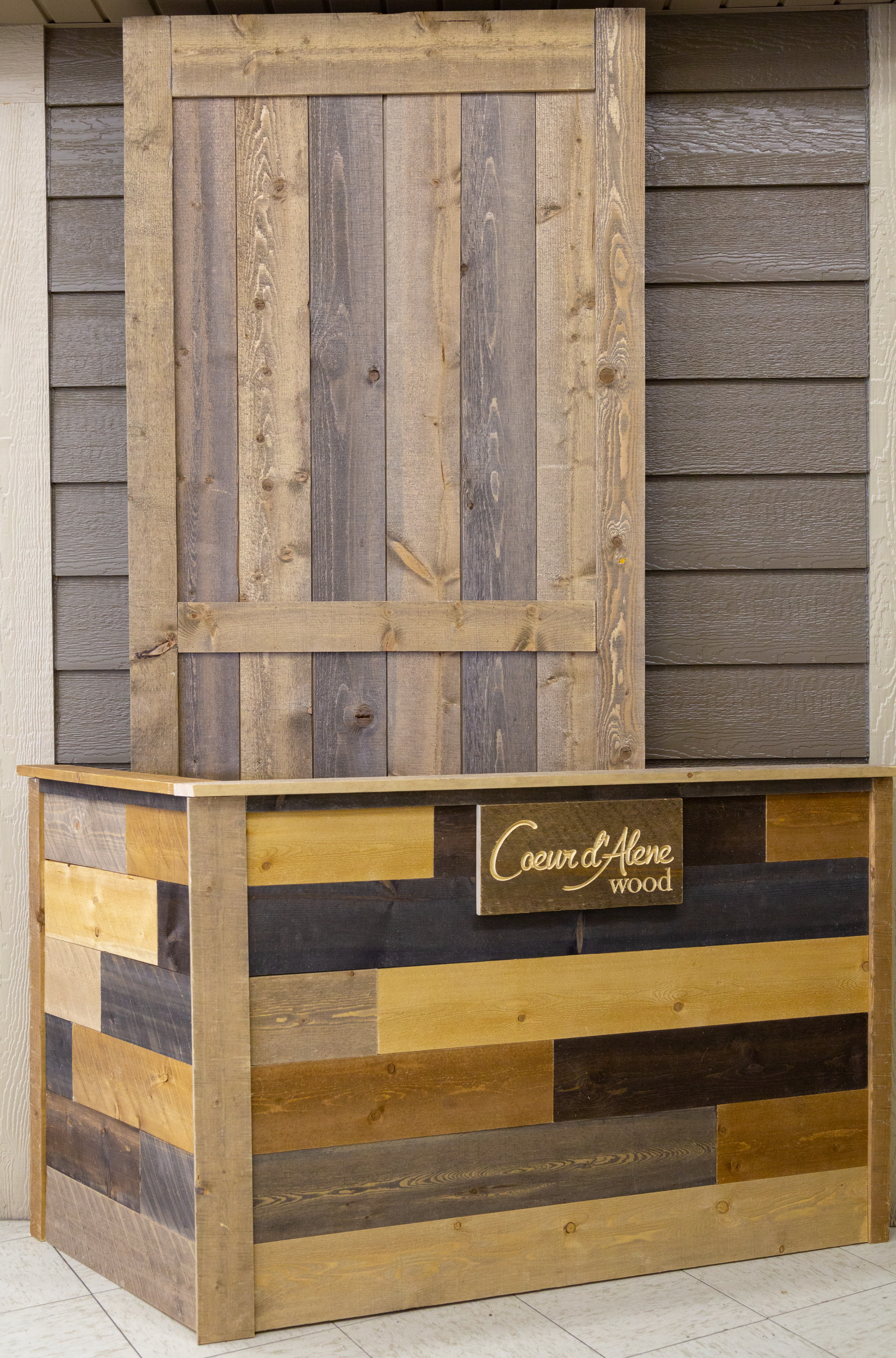 CDA Wood display at Suburban Lumber