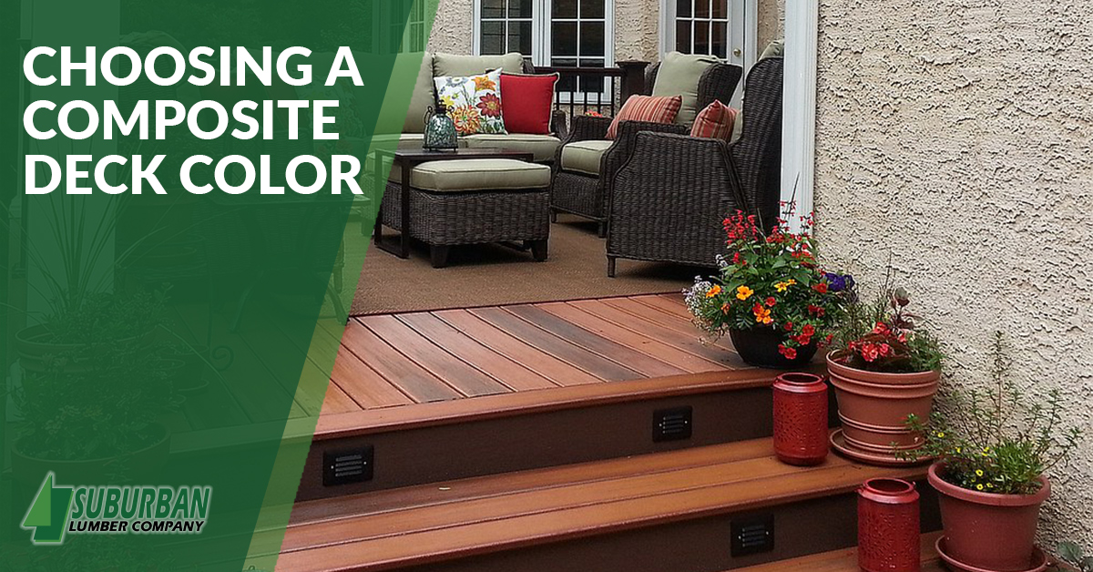 Choosing a Composite Deck Color - Suburban Lumber
