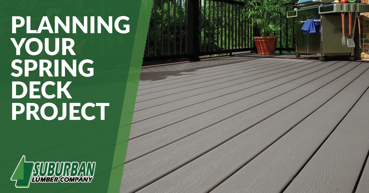 Planning Your Spring Deck Project