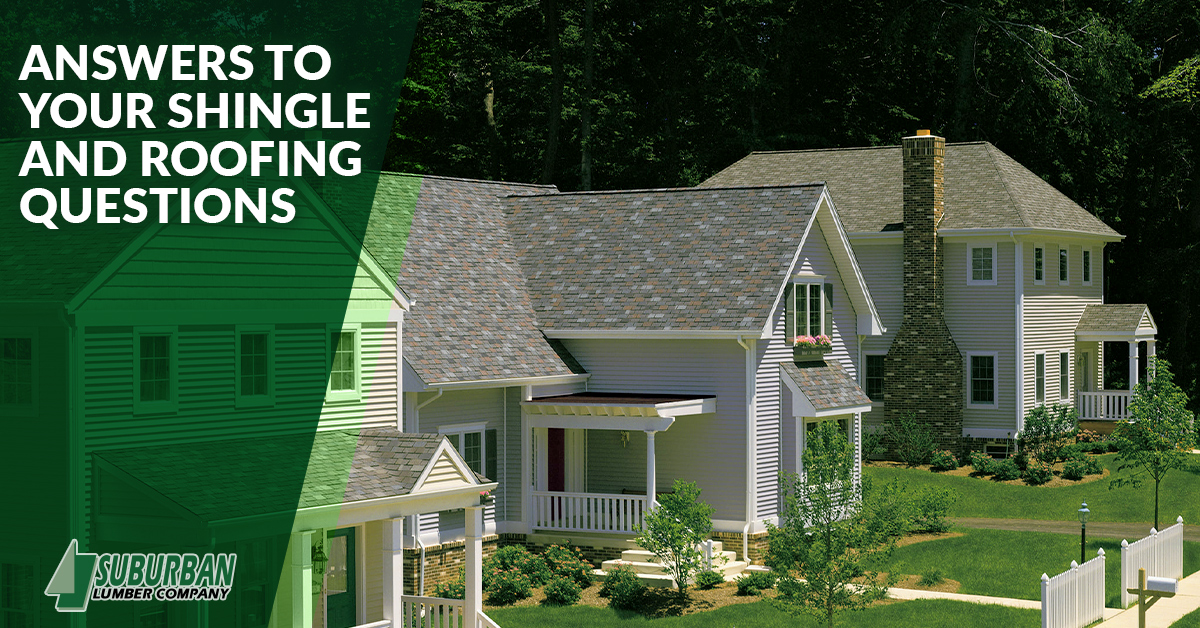 Answers to your roofing and shingle questions