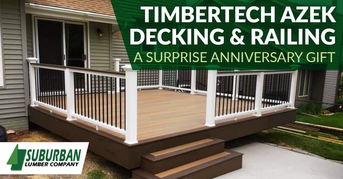 TimberTech AZEK decking and Railing